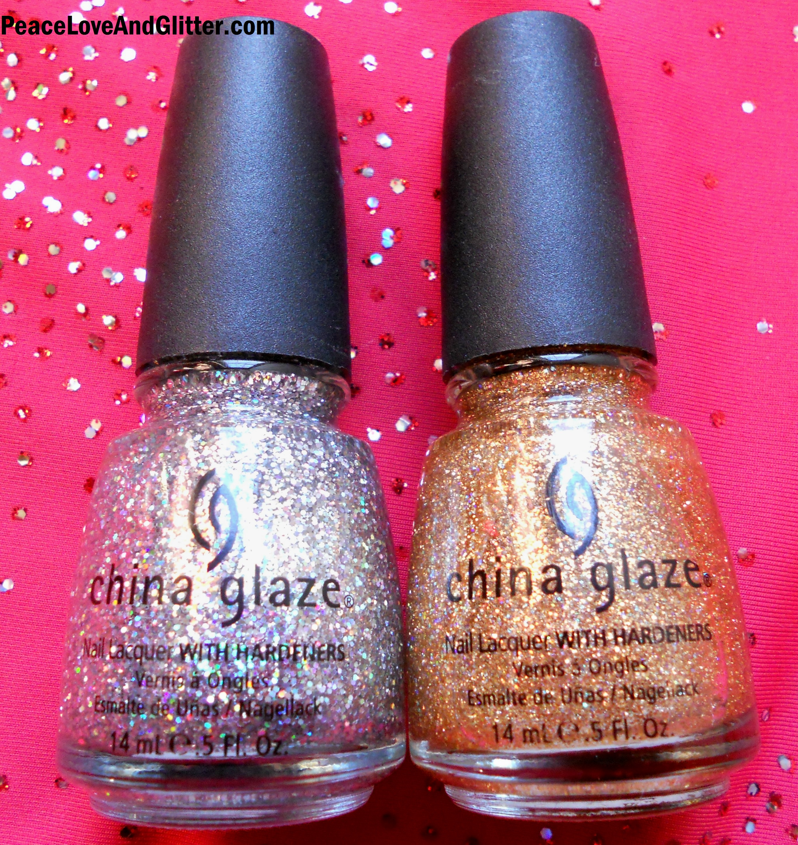 Celebrate the New Year with GLITTER Nail Polish! | Peace Love and ...