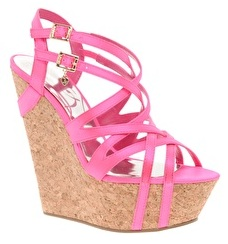 Lipsy Tilly Neon Platform Wedges