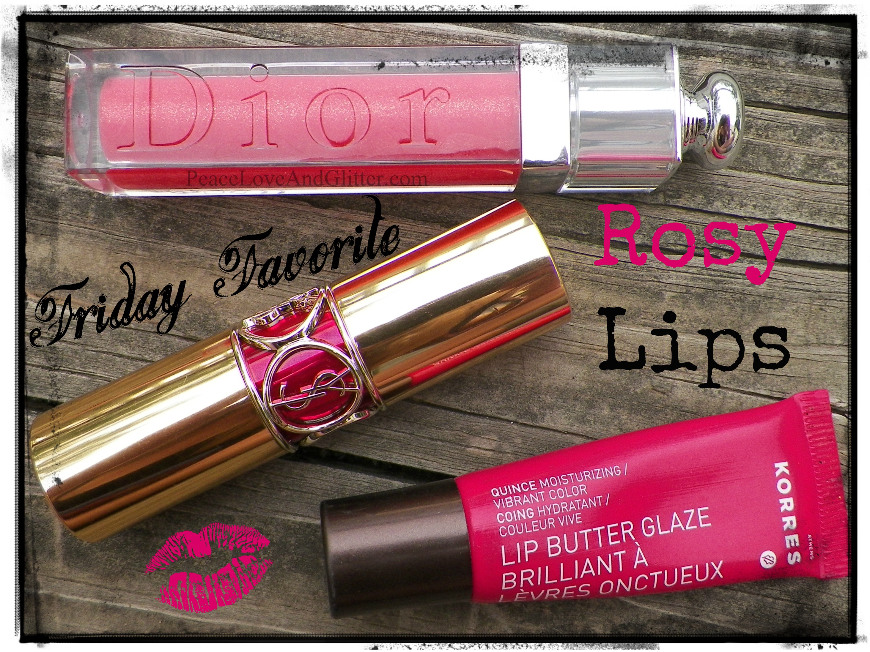 Gorgeous Rose Lippies | Peace Love and Glitter