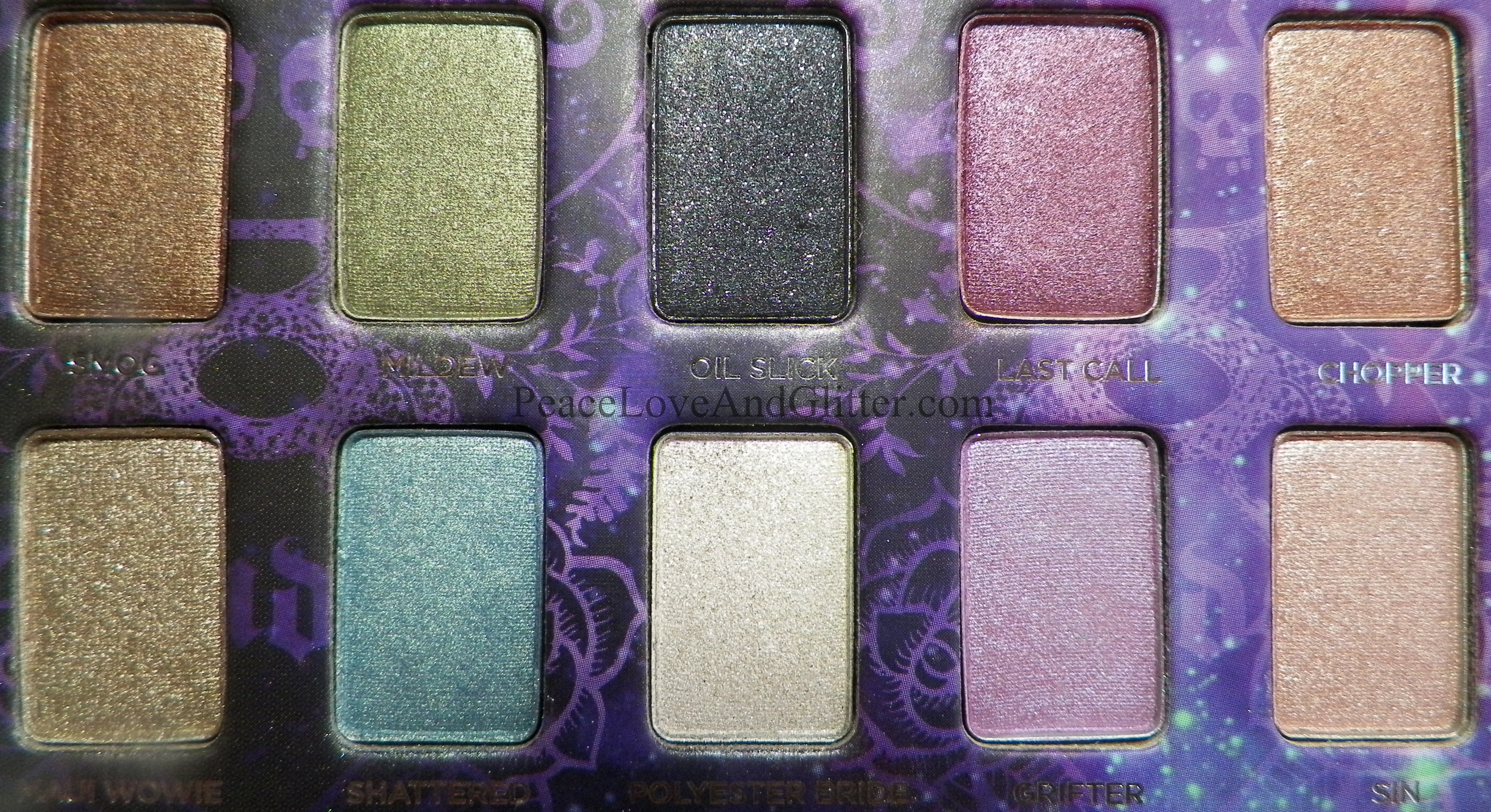 urban decay ammo palette review peace love and glitterpeace love