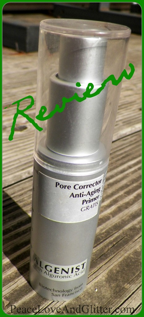 Algenist Pore Corrector Anti-Aging Primer, Review | Peace Love and Glitter